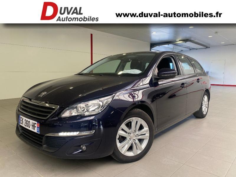 Peugeot 308 SW 1.6 BlueHDi 120ch Active Business S&S EAT6 Diesel DARK BLUE Occasion à vendre