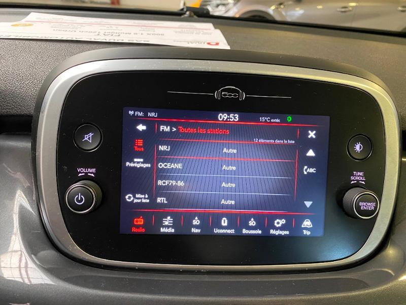 Photo 12 de l'offre de FIAT 500X 1.6 Multijet 120ch Urban à 16990€ chez Duval Automobiles