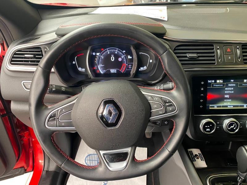 Photo 8 de l'offre de RENAULT Kadjar 1.3 TCe 160ch FAP Black Edition SL EDC à 22490€ chez Duval Automobiles