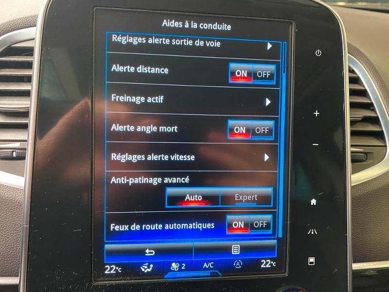 Photo 16 de l'offre de RENAULT Espace 1.6 dCi 160ch energy Zen EDC à 16990€ chez Duval Automobiles