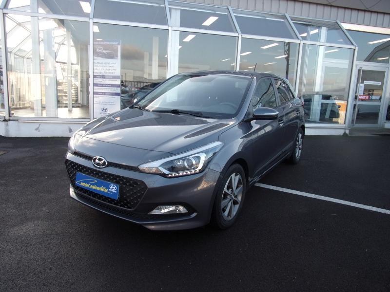 Hyundai i20 1.1 CRDi 75 Edition #Navi Diesel Gris Foncé Métal Occasion à vendre