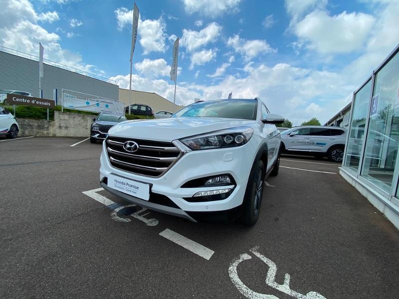 Hyundai Tucson 2.0 CRDI 136ch Executive 2017 2WD Diesel BLANC Occasion à vendre