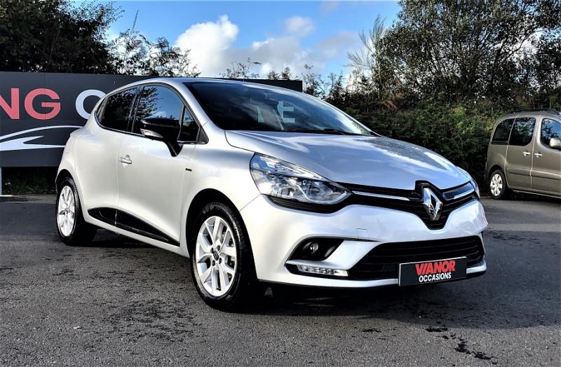 Renault CLIO IV 0.9 TCE 75CH ENERGY LIMITED 5P EURO6C Essence GRIS Occasion à vendre