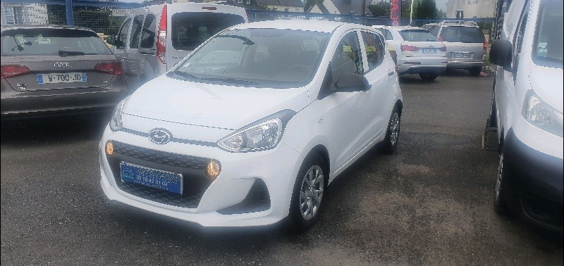 Hyundai I10 1.0 66CH INITIA Essence BLANC Occasion à vendre