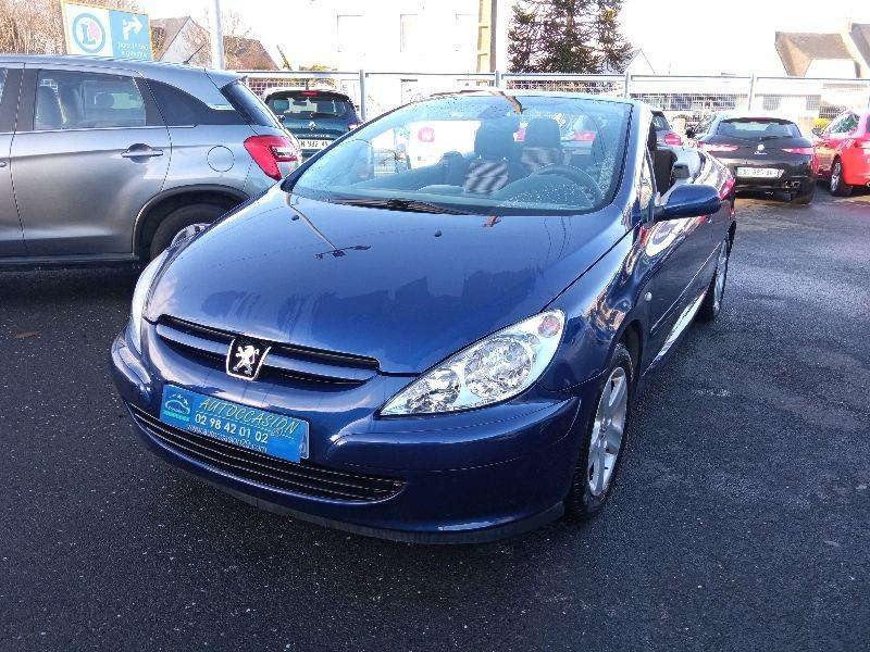 Peugeot 307 CC 2.0 16V 138CH Essence BLEU F Occasion à vendre