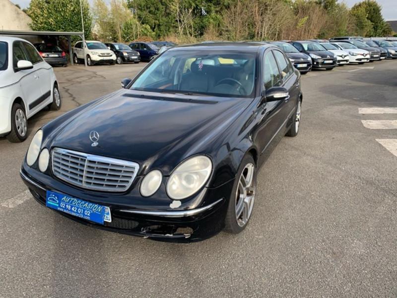 Mercedes-Benz CLASSE E (W211) 320 CDI ELEGANCE BA Diesel NOIR Occasion à vendre