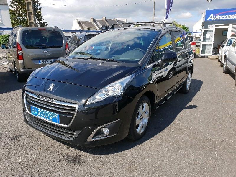 Peugeot 5008 1.6 HDI 115CH FAP STYLE II 7 PL. Diesel NOIR Occasion à vendre