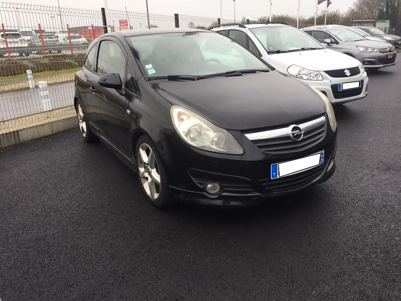 Opel CORSA 1.7 CDTI125 FAP GSI 3P Diesel NOIR Occasion à vendre