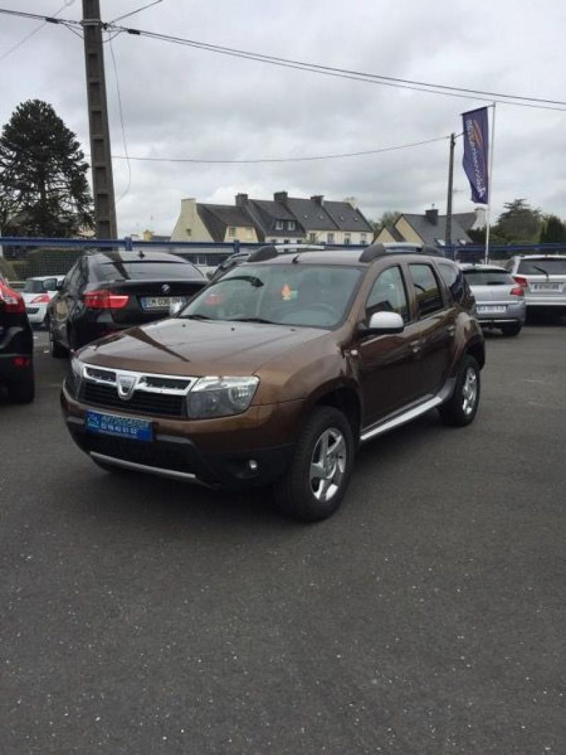 Dacia DUSTER 1.6 16V 105CH PRESTIGE 4X2 Essence MARRON Occasion à vendre