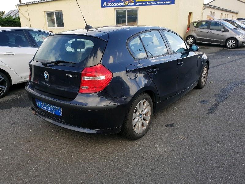 Photo 3 de l'offre de BMW SERIE 1 (E81/E87) 118D 143CH CONFORT 5P à 6490€ chez Vianor occasions