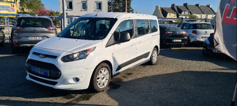 Ford GRD TOURNEO CONNECT 1.5 TD 100CH AMBIENTE EURO6 Diesel BLANC Occasion à vendre