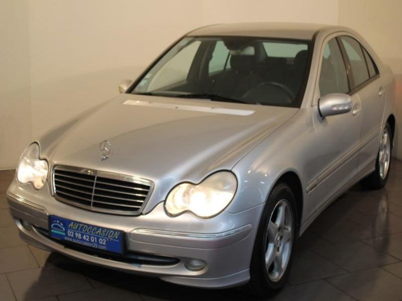 Mercedes-Benz CLASSE C (W203) 220 CDI AVANTGARDE BV6 Diesel GRIS Occasion à vendre