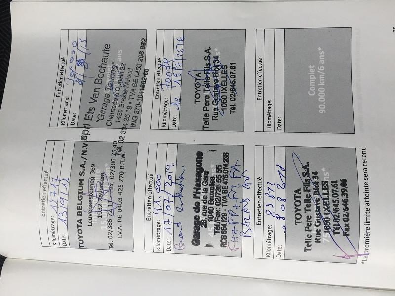 Photo 8 de l'offre de TOYOTA URBAN CRUISER 90 D-4D LIFE 2WD à 7990€ chez Vianor occasions