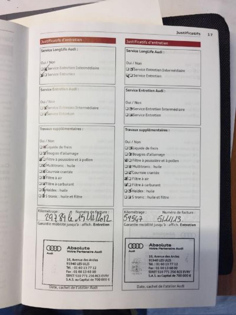 Photo 12 de l'offre de AUDI A5 SPORTBACK 3.0 V6 TDI 204CH AMBIENTE MULTITRONIC à 16490€ chez Vianor occasions