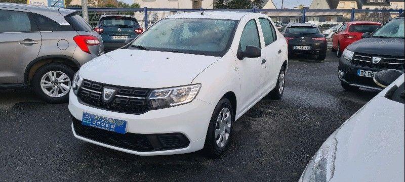 Dacia LOGAN 1.0 SCE 75CH -18 Essence BLANC Occasion à vendre