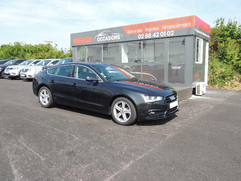 Audi A5 SPORTBACK 3.0 V6 TDI 204CH AMBIENTE MULTITRONIC Diesel NOIR Occasion à vendre
