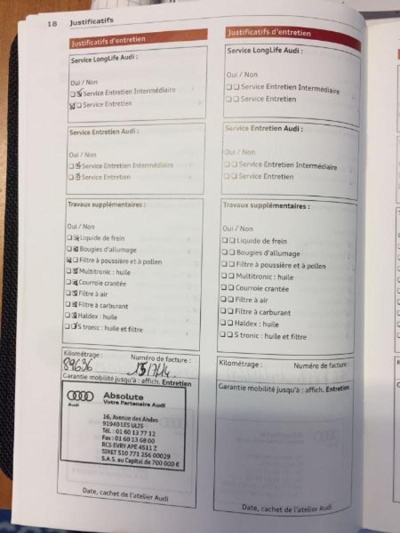 Photo 10 de l'offre de AUDI A5 SPORTBACK 3.0 V6 TDI 204CH AMBIENTE MULTITRONIC à 16490€ chez Vianor occasions