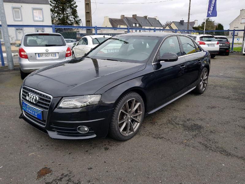 Audi A4 2.7 V6 TDI 190CH DPF S LINE MULTITRONIC Diesel NOIR Occasion à vendre