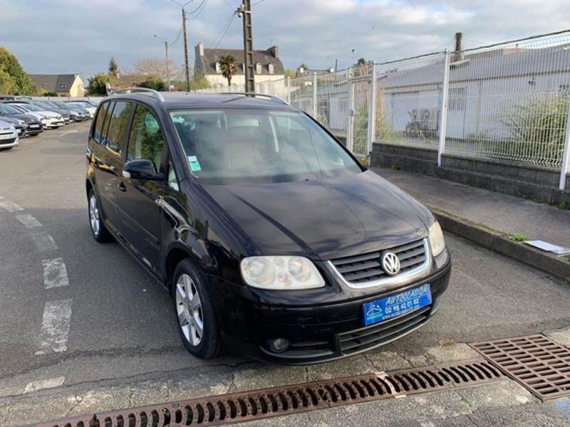 Volkswagen TOURAN 2.0 TDI 140CH CONFORT 7 PLACES Diesel NOIR Occasion à vendre