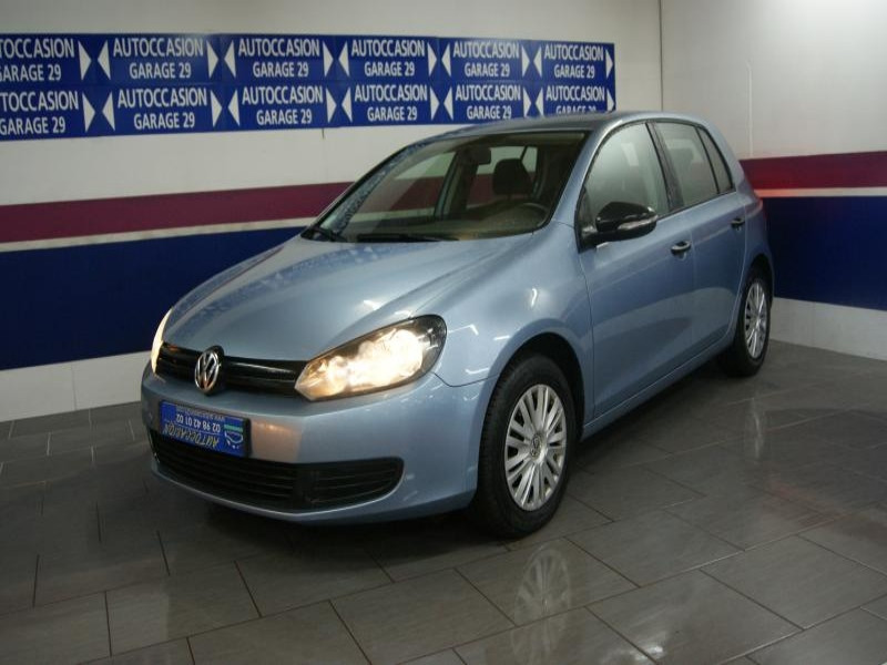 Volkswagen GOLF VI 1.6 TDI 105CH BLUEMOTION FAP TRENDLINE 5P Diesel BLEU Occasion à vendre