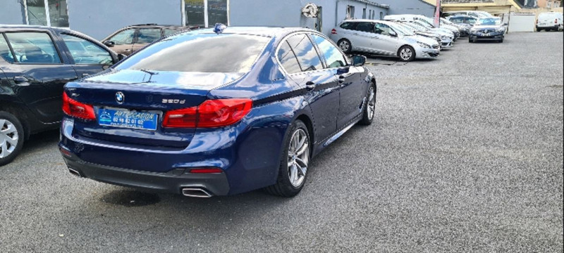 Photo 3 de l'offre de BMW SERIE 5 (G30) 520DA XDRIVE 190CH M SPORT STEPTRONIC à 25990€ chez Vianor occasions