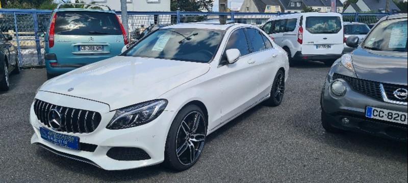 Mercedes-Benz CLASSE C (W205) 300 H FASCINATION 7G-TRONIC PLUS Hybride BLANC Occasion à vendre