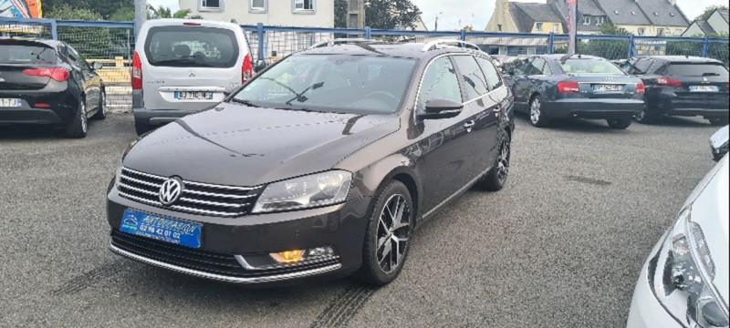 Volkswagen PASSAT SW 1.6 TDI 105CH BLUEMOTION TECHNOLOGY FAP CONFORTLINE Diesel MARRON Occasion à vendre
