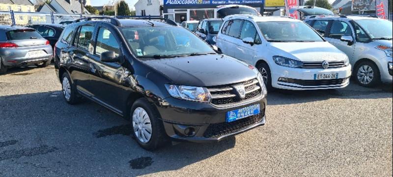 Dacia LOGAN MCV 1.2 16V 75CH AMBIANCE Essence NOIR Occasion à vendre