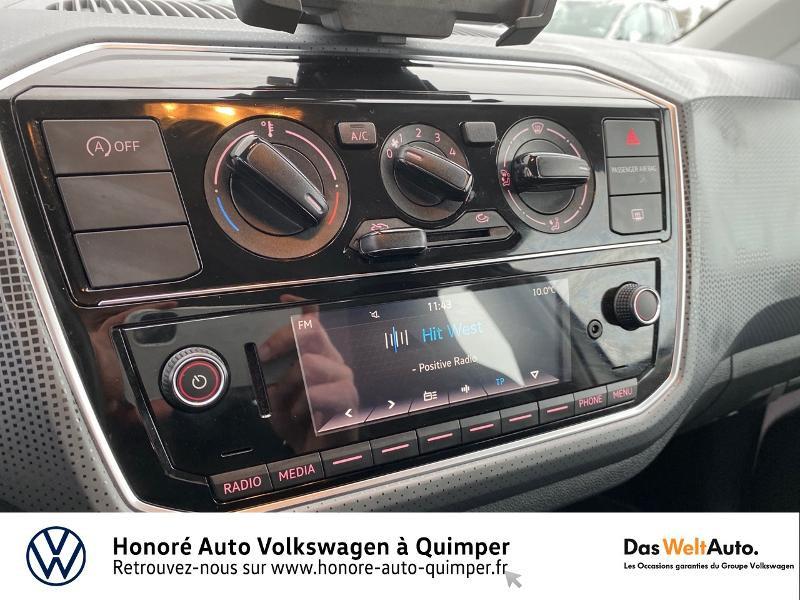 Photo 8 de l'offre de VOLKSWAGEN up! 1.0 75ch BlueMotion Technology Move up! 5p Euro6d-T à 8990€ chez Honore Auto - Volkswagen Quimper