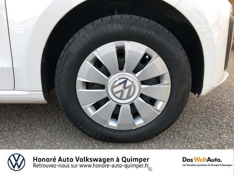 Photo 16 de l'offre de VOLKSWAGEN up! 1.0 75ch BlueMotion Technology Move up! 5p Euro6d-T à 8990€ chez Honore Auto - Volkswagen Quimper