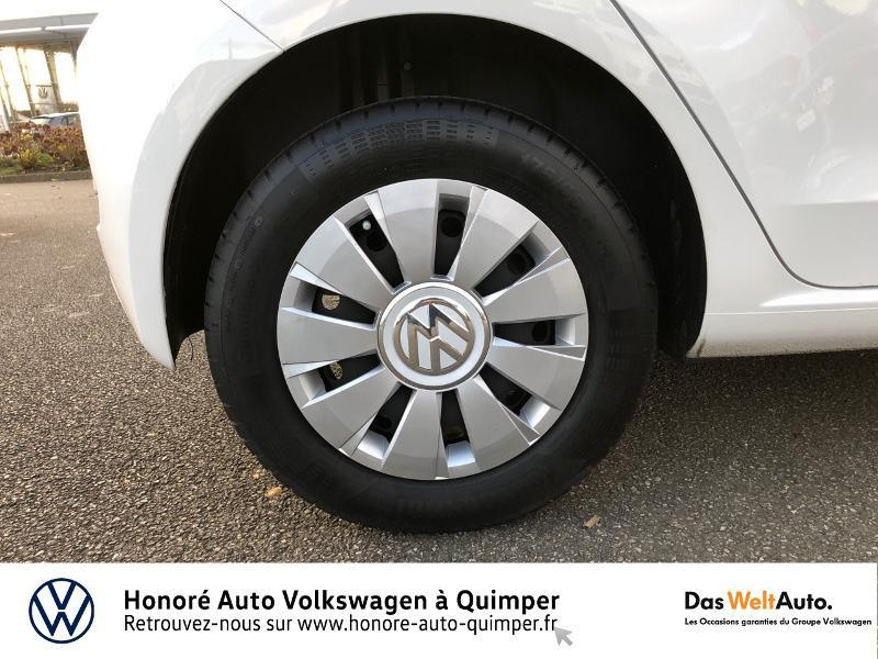 Photo 15 de l'offre de VOLKSWAGEN up! 1.0 75ch BlueMotion Technology Move up! 5p Euro6d-T à 8990€ chez Honore Auto - Volkswagen Quimper