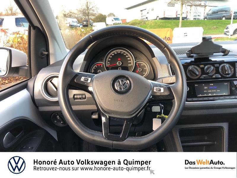 Photo 7 de l'offre de VOLKSWAGEN up! 1.0 75ch BlueMotion Technology Move up! 5p Euro6d-T à 8990€ chez Honore Auto - Volkswagen Quimper