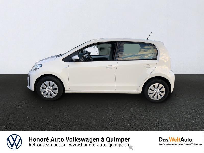 Photo 2 de l'offre de VOLKSWAGEN up! 1.0 75ch BlueMotion Technology Move up! 5p Euro6d-T à 8990€ chez Honore Auto - Volkswagen Quimper