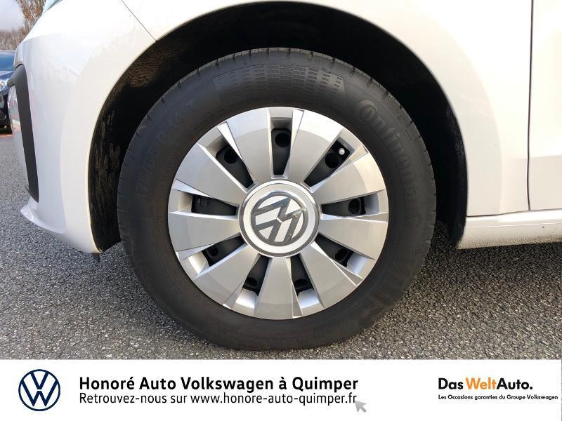 Photo 13 de l'offre de VOLKSWAGEN up! 1.0 75ch BlueMotion Technology Move up! 5p Euro6d-T à 8990€ chez Honore Auto - Volkswagen Quimper