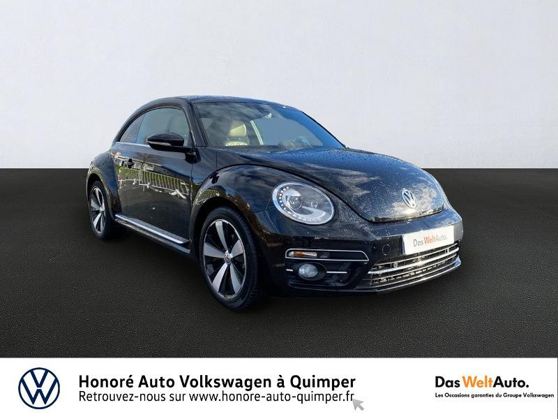 Photo 1 de l'offre de VOLKSWAGEN Coccinelle 1.2 TSI 105ch BlueMotion Technology Couture Exclusive DSG7 à 20990€ chez Honore Auto - Volkswagen Quimper