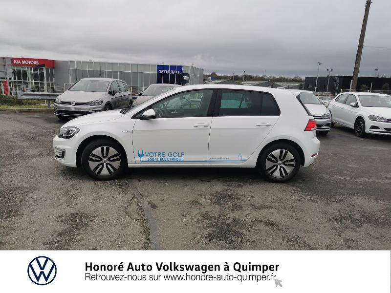 Photo 2 de l'offre de VOLKSWAGEN e-Golf 136ch 4cv à 22500€ chez Honore Auto - Volkswagen Quimper