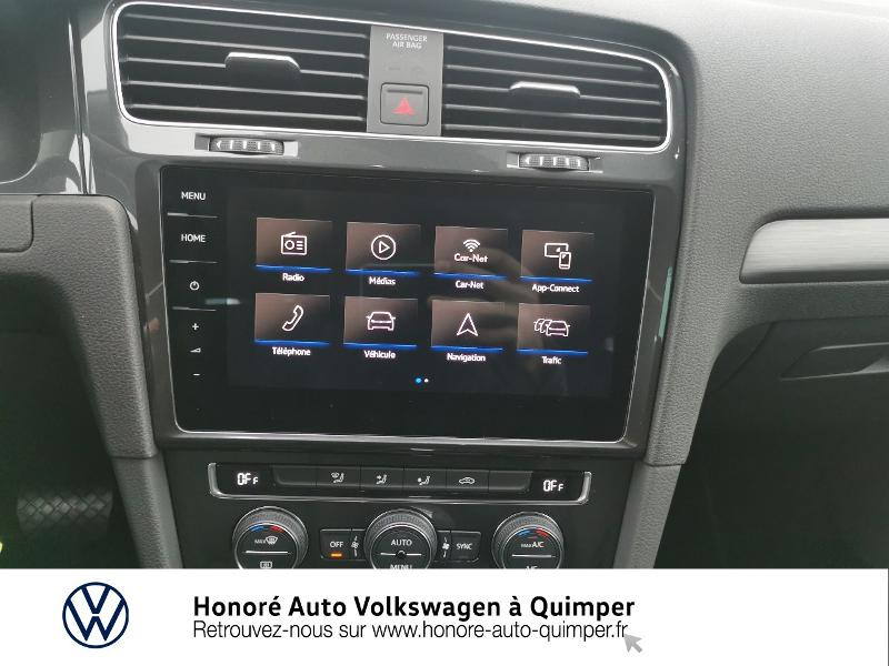 Photo 8 de l'offre de VOLKSWAGEN e-Golf 136ch 4cv à 22500€ chez Honore Auto - Volkswagen Quimper