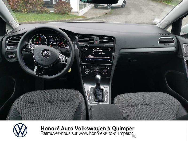 Photo 6 de l'offre de VOLKSWAGEN e-Golf 136ch 4cv à 22500€ chez Honore Auto - Volkswagen Quimper