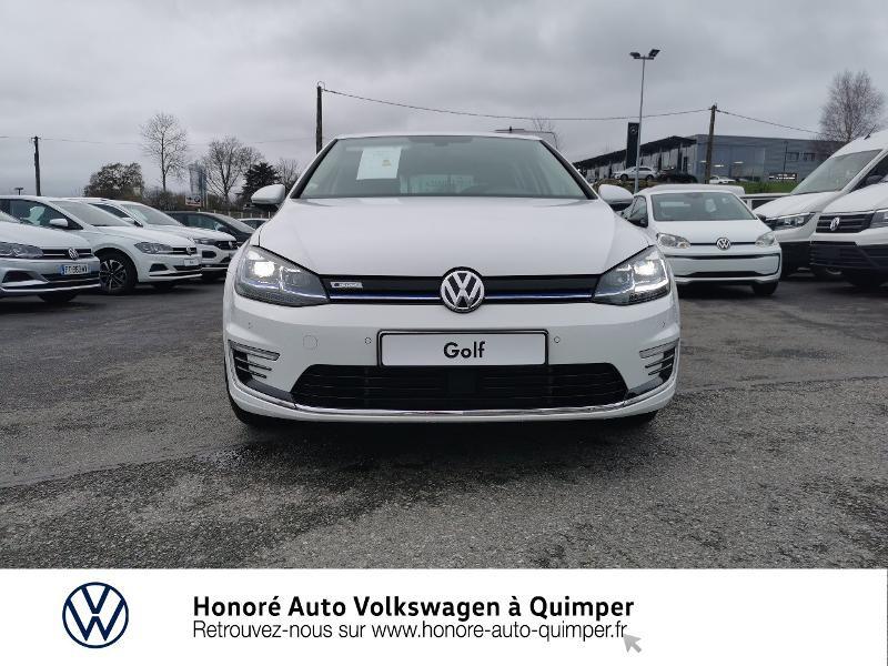 Photo 5 de l'offre de VOLKSWAGEN e-Golf 136ch 4cv à 22500€ chez Honore Auto - Volkswagen Quimper