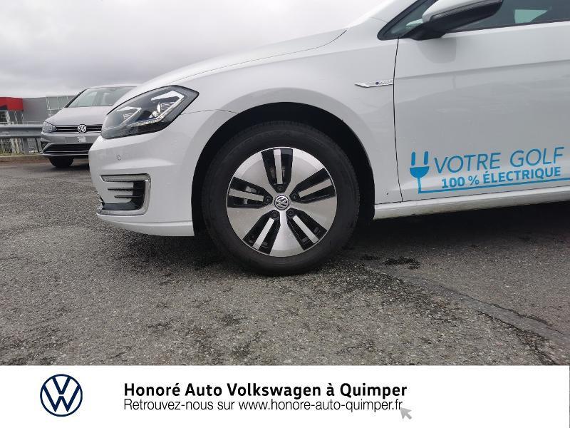 Photo 13 de l'offre de VOLKSWAGEN e-Golf 136ch 4cv à 22500€ chez Honore Auto - Volkswagen Quimper