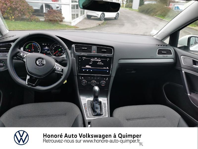 Photo 9 de l'offre de VOLKSWAGEN e-Golf 136ch 4cv à 22500€ chez Honore Auto - Volkswagen Quimper
