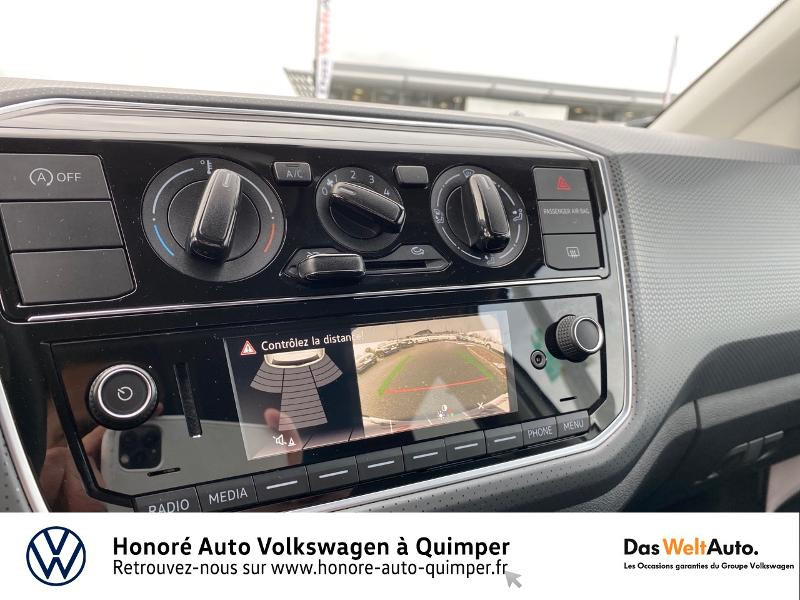 Photo 8 de l'offre de VOLKSWAGEN up! 1.0 75ch BlueMotion Technology up! Connect 3p Euro6d-T à 9790€ chez Honore Auto - Volkswagen Quimper