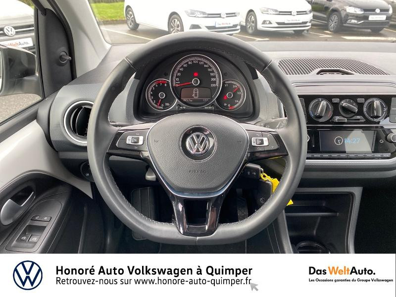 Photo 7 de l'offre de VOLKSWAGEN up! 1.0 75ch BlueMotion Technology up! Connect 3p Euro6d-T à 9790€ chez Honore Auto - Volkswagen Quimper