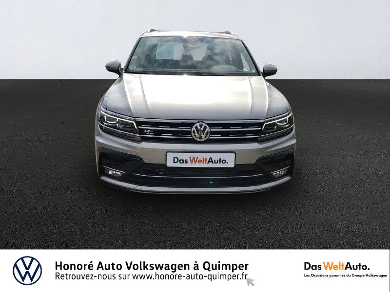 Photo 5 de l'offre de VOLKSWAGEN Tiguan 2.0 TDI 150ch Carat DSG7 Euro6d-T à 35890€ chez Honore Auto - Volkswagen Quimper