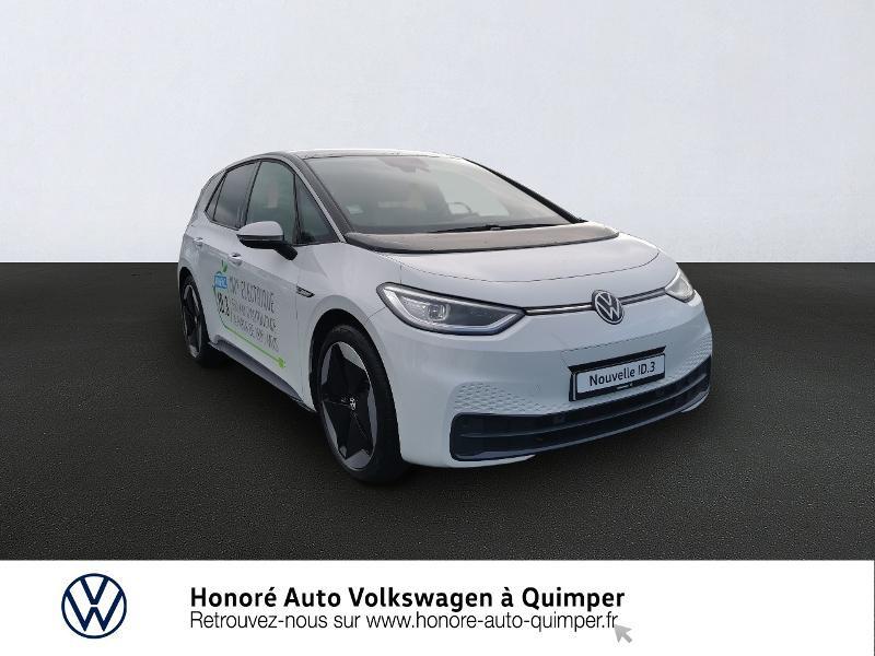 Volkswagen ID.3 204ch 1st Max Electrique Blanc Glacier Occasion à vendre