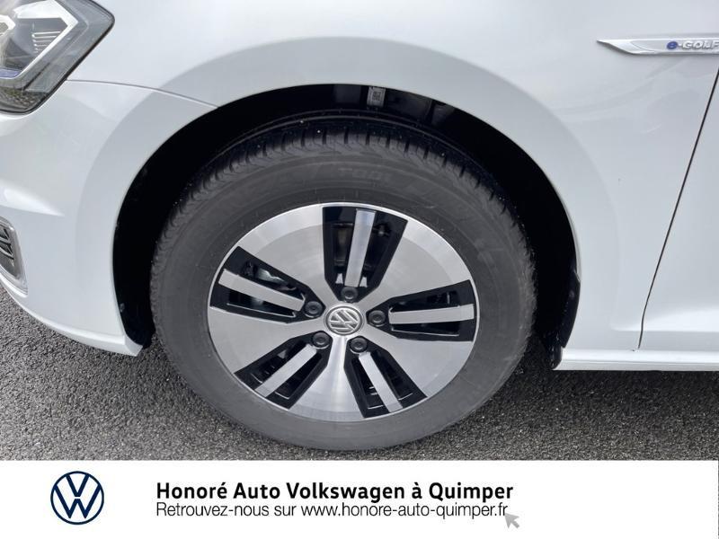 Photo 15 de l'offre de VOLKSWAGEN e-Golf 136ch à 23900€ chez Honore Auto - Volkswagen Quimper