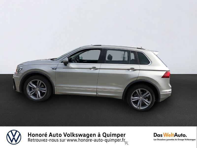 Photo 2 de l'offre de VOLKSWAGEN Tiguan 2.0 TDI 150ch Carat DSG7 Euro6d-T à 35890€ chez Honore Auto - Volkswagen Quimper
