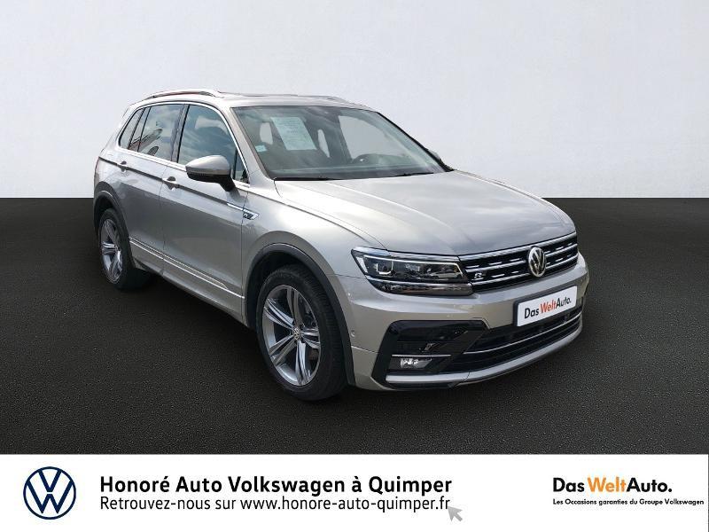 Photo 1 de l'offre de VOLKSWAGEN Tiguan 2.0 TDI 150ch Carat DSG7 Euro6d-T à 35890€ chez Honore Auto - Volkswagen Quimper