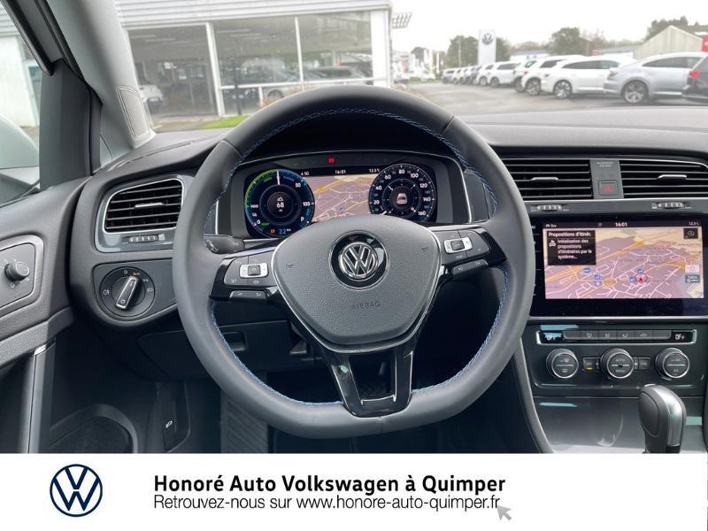 Photo 7 de l'offre de VOLKSWAGEN e-Golf 136ch à 23900€ chez Honore Auto - Volkswagen Quimper