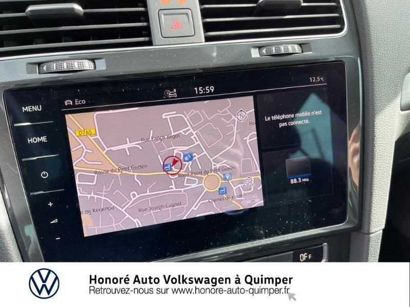Photo 8 de l'offre de VOLKSWAGEN e-Golf 136ch à 23900€ chez Honore Auto - Volkswagen Quimper